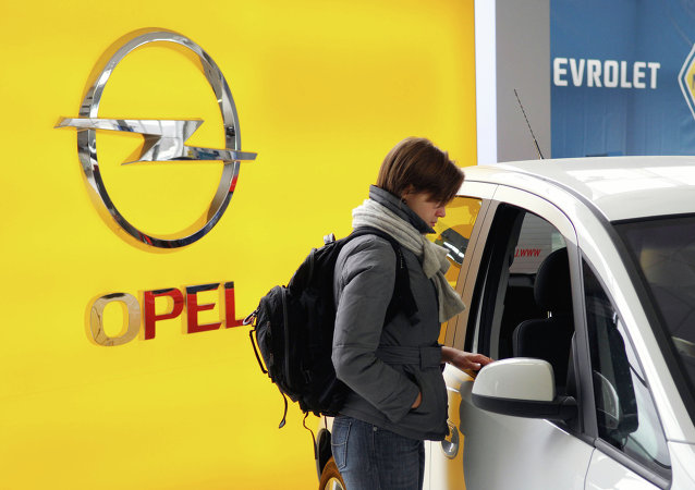 Logo d'Opel et de Chevrolet