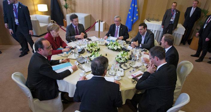 Réunion sur la Grèce à Bruxelles