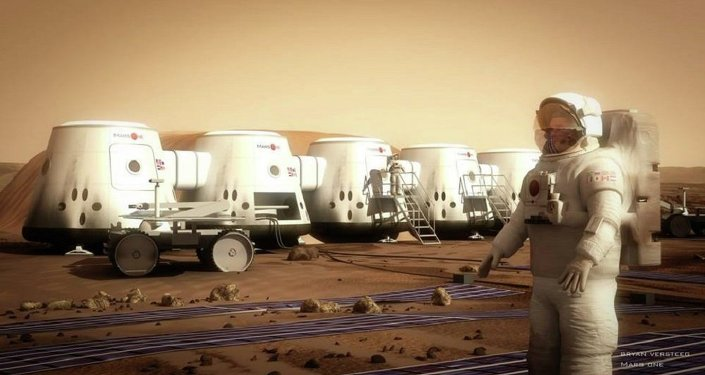 Le projet Mars One