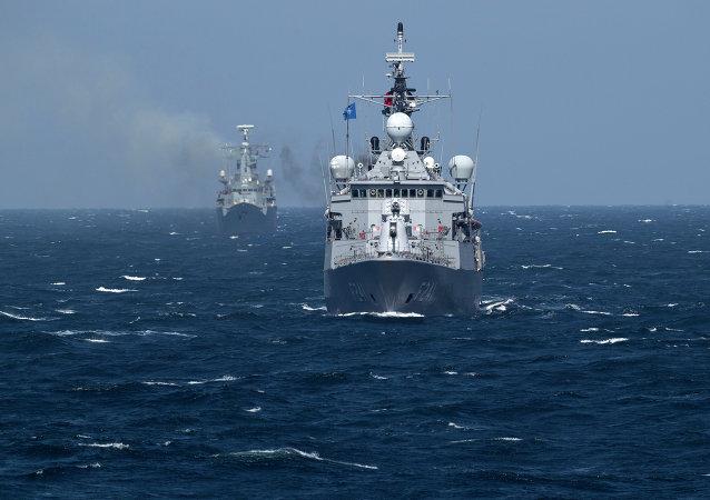 Navire de l'Otan en mer Noire (archive photo)