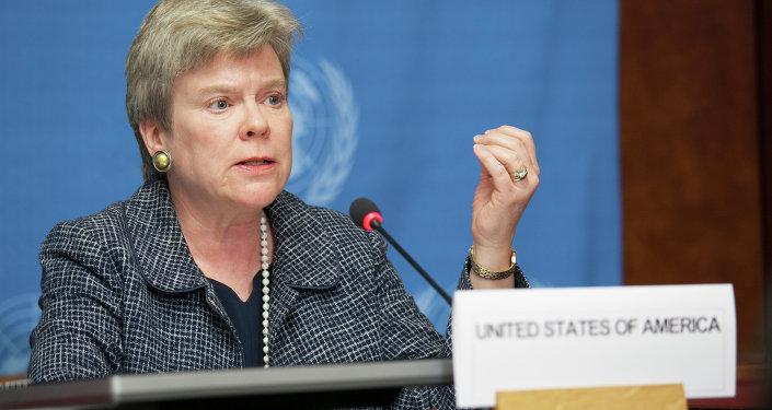 La sous-secrétaire d'Etat américaine Rose Gottemoeller