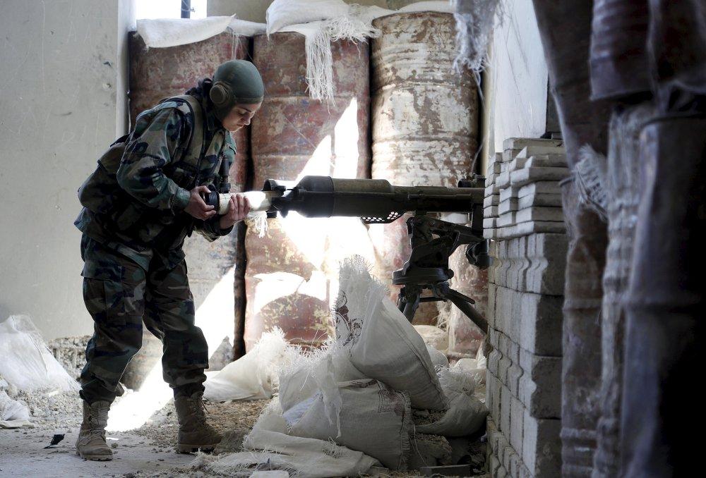 Bataillon de femmes soldates d'Assad