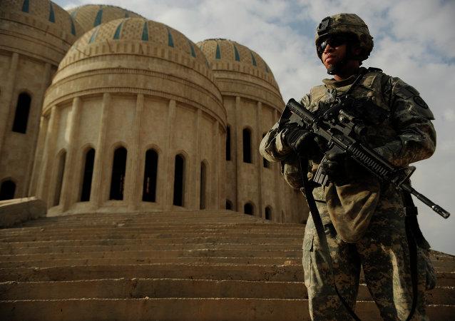 Un soldat américain en Irak (Archives)