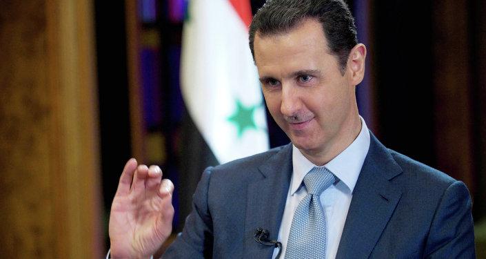 Le président Assad. Archives