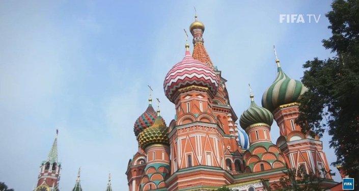Mondial de football 2018: la FIFA présente Moscou