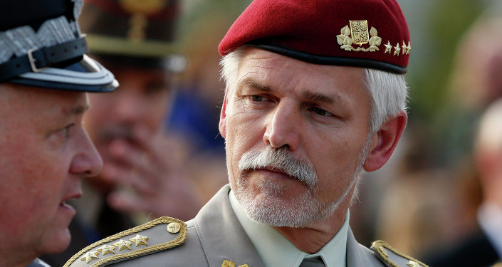 Czech's Republic Chief of Defence, Gen. Petr Pavel