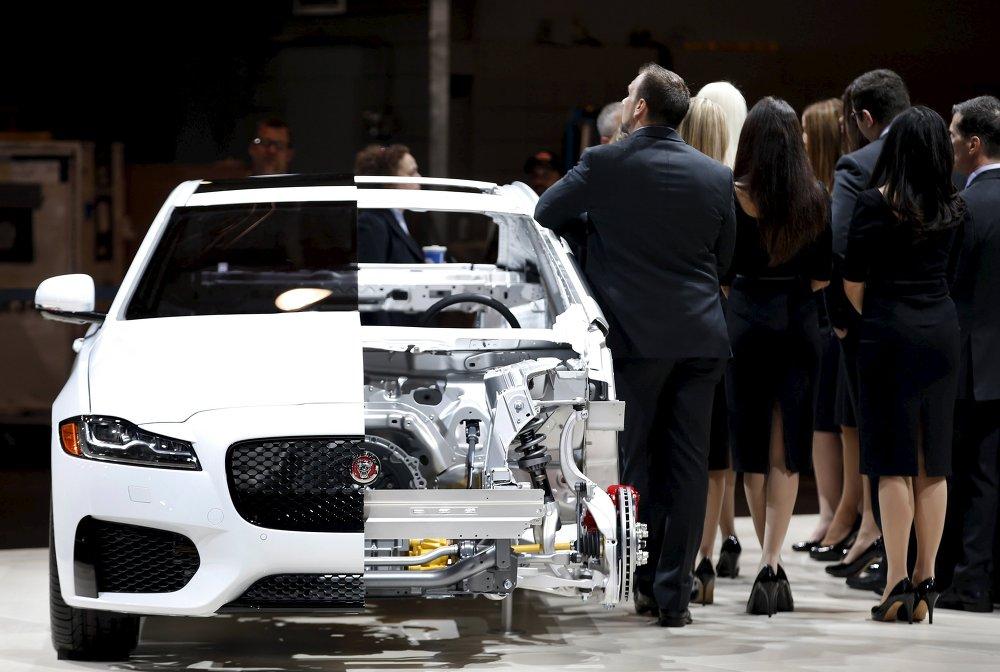 La berline Jaguar XF de 2e génération figure parmi les premières les plus attendues du salon de New York