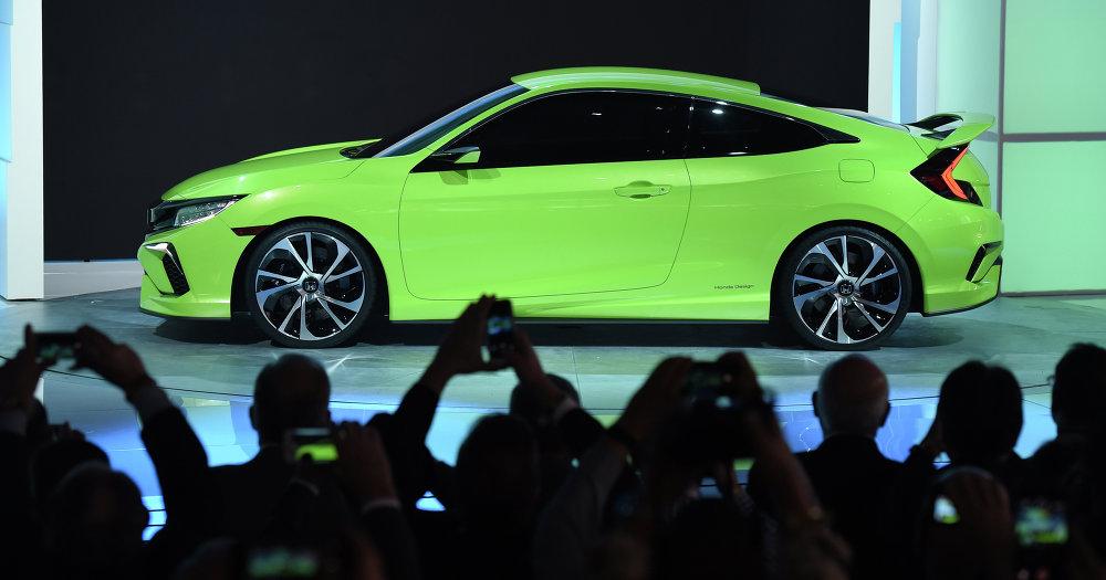 Le prototype Honda Civic Concept