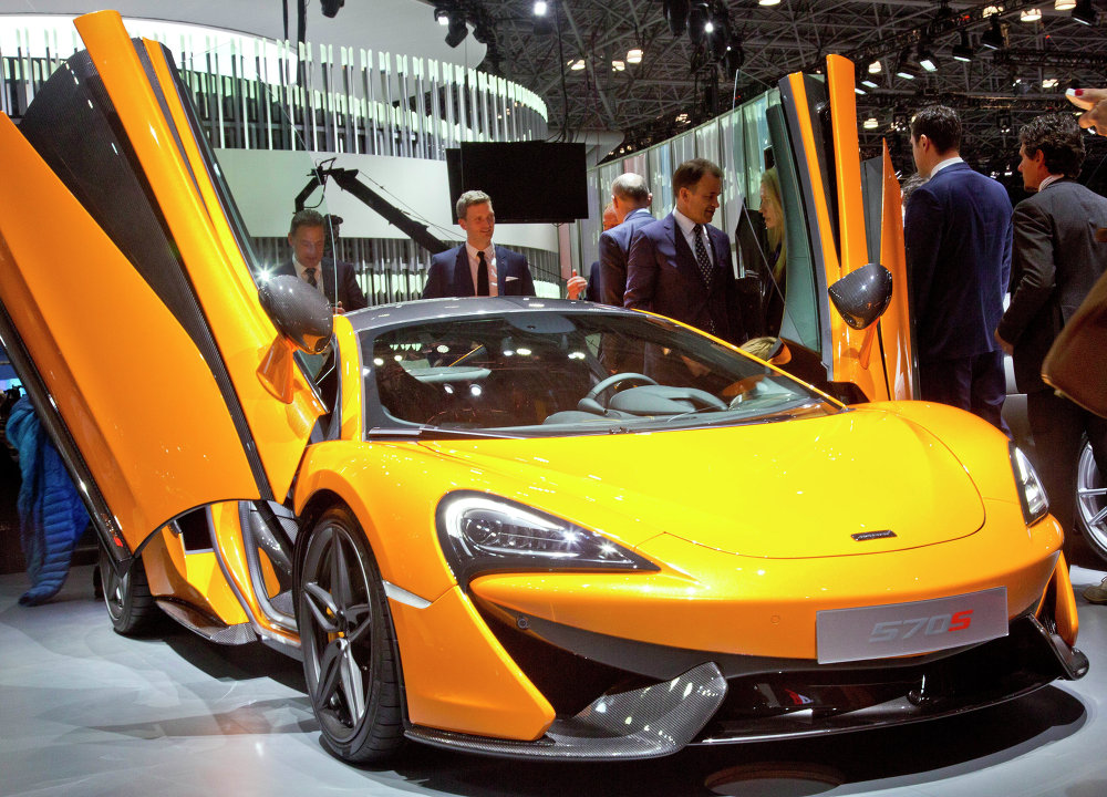 Supercar 570S Coupé au Salon de New York