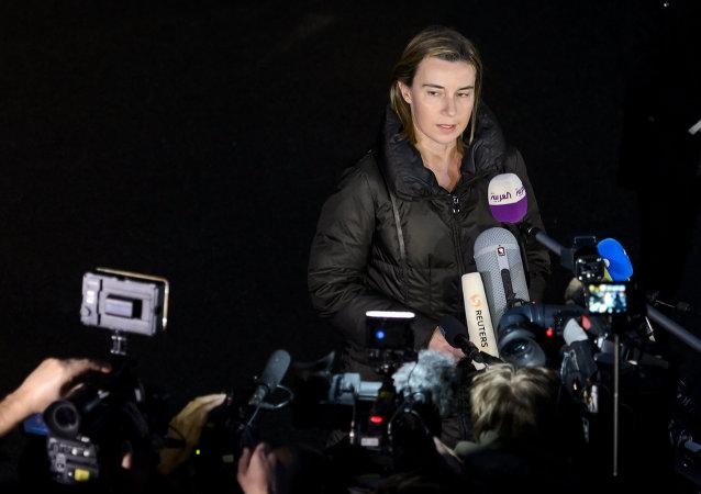 La chef de la diplomatie européenne Federica Mogherini