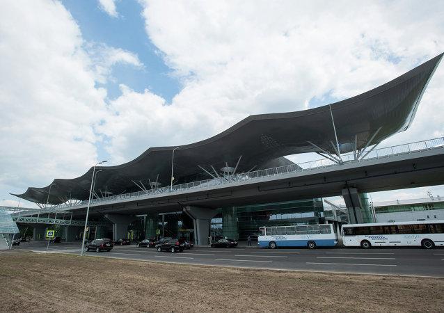 Terminal D de l'aéroport Borispol de Kiev
