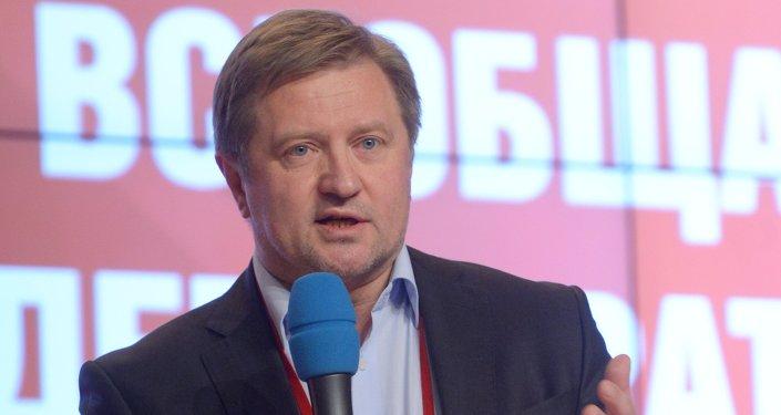 Vladimir Lepekhine, Directeur général de l'Institut de la Communauté économique eurasiatique (CEEA), membre du Club Zinoviev