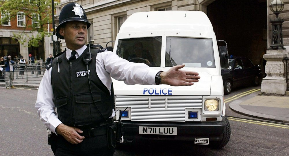 Un policier britannique