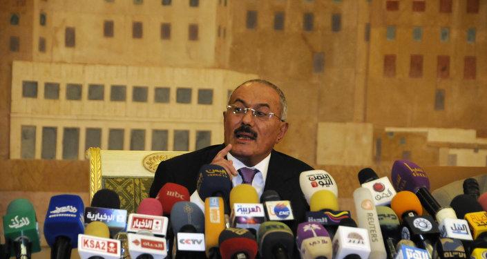 Ex-président yéménite Ali Abdallah Saleh