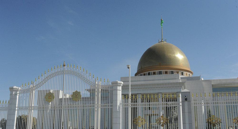 Palais présidentiel à Achkhabad