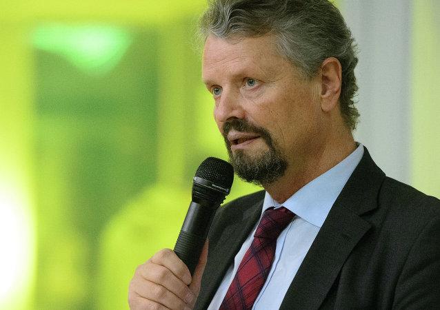 Gernot Erler, coordinateur du gouvernement fédéral pour la coopération sociétale avec la Russie, l'Asie centrale et les pays du partenariat oriental