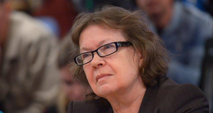 Olga Zinovieva, directrice de l'Institut biographique d'Alexandre Zinoviev, coprésidente du Club Zinoviev de Rossiya Segodnya