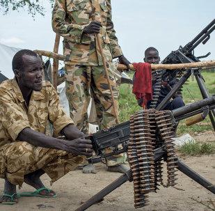 Rebelles sud-soudanais