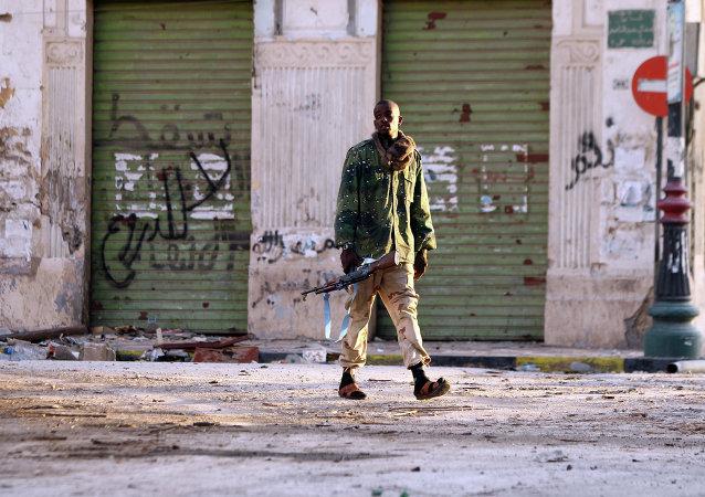 Soldat libyen