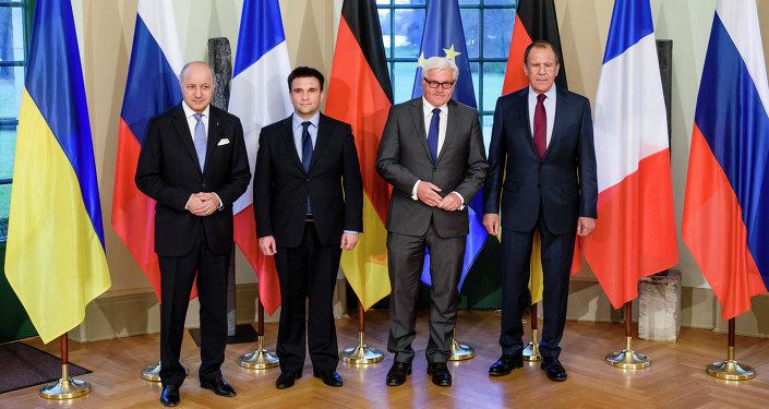 Réunion des chefs de diplomatie à Berlin