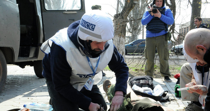 Журналист телеканала Звезда ранен в Донбассе