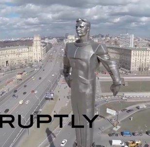 Monument à Iouri Gagarine à Moscou