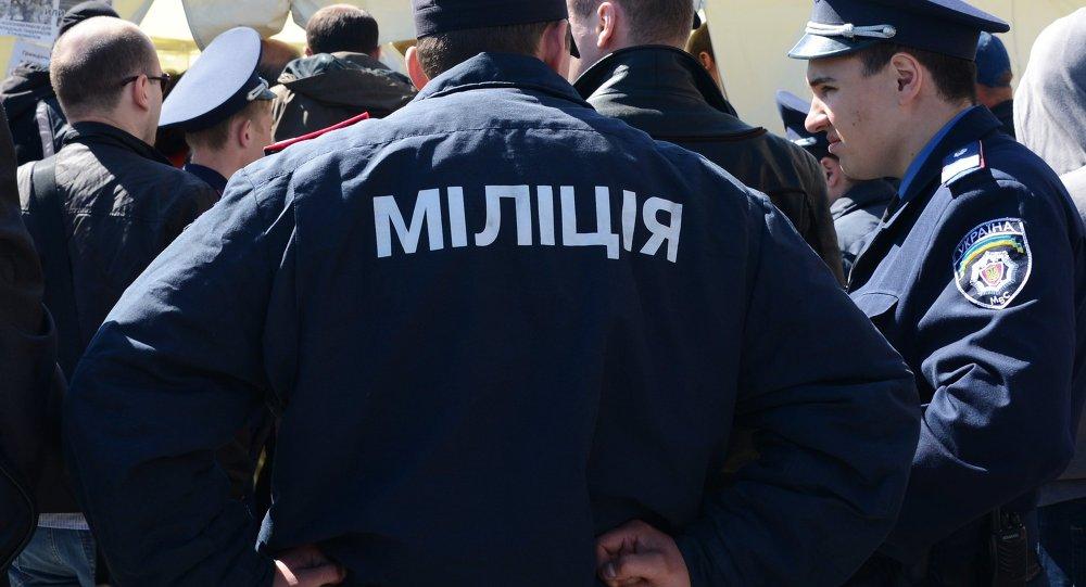 Des policiers ukrainiens (archives)