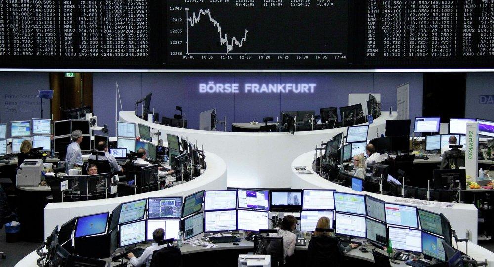 La Bourse de Francfort