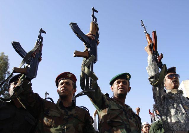 Yémen: manifestation de soutien aux rebelles houthis à Sanaa