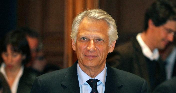 Dominique de Villepin, premier ministre français de 2005 à 2007