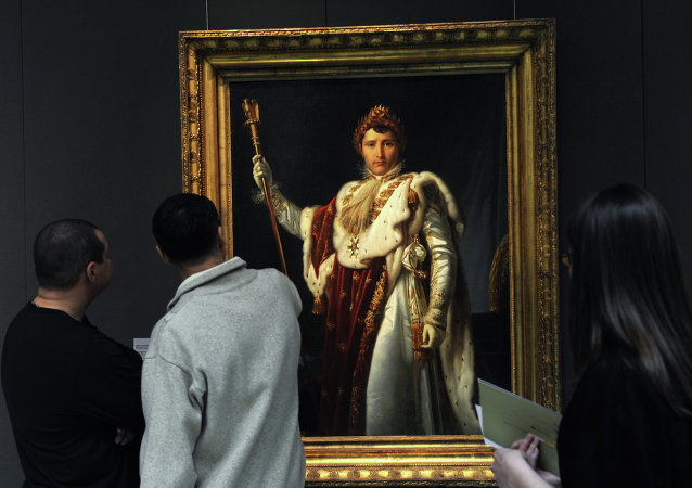 Un portrait de Napoléon