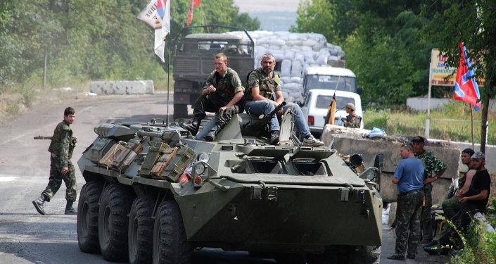 La situation dans la région de Donetsk (archives)