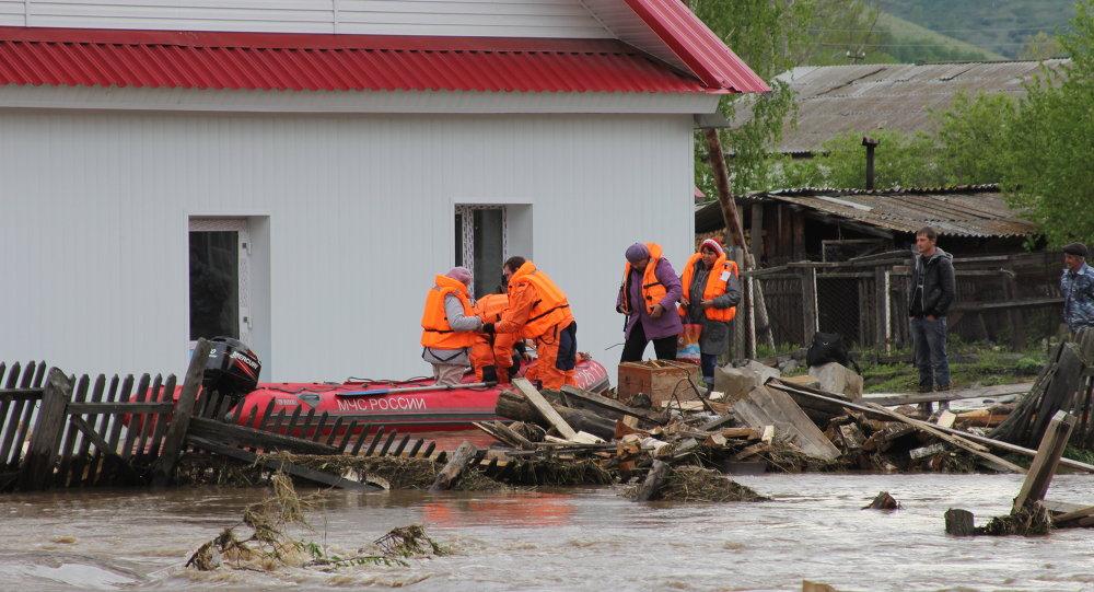Inondation en Sibérie