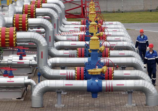 Site de stockage souterrain de gaz naturel