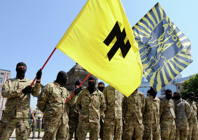 Le bataillon ukrainien Azov (archives)