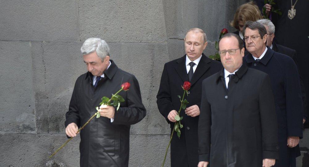 Vladimir Poutine à Erevan