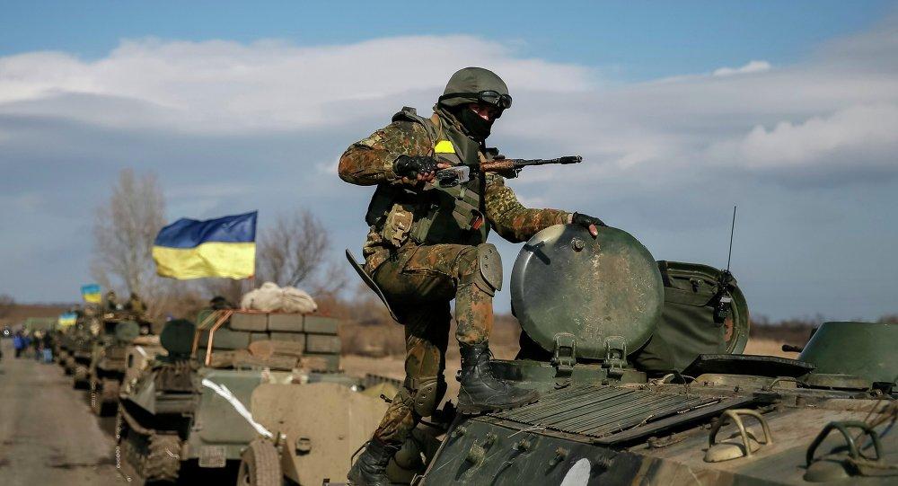 Convoi militaire ukrainien
