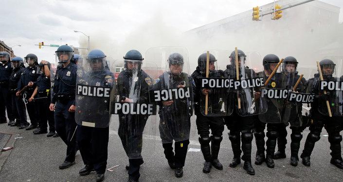 Police à Baltimore
