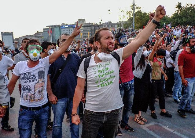 Manifestation à Istanbul (Archives)