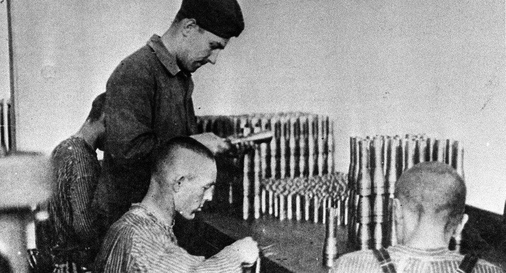 Les détenus du camp de concentration de Dachau