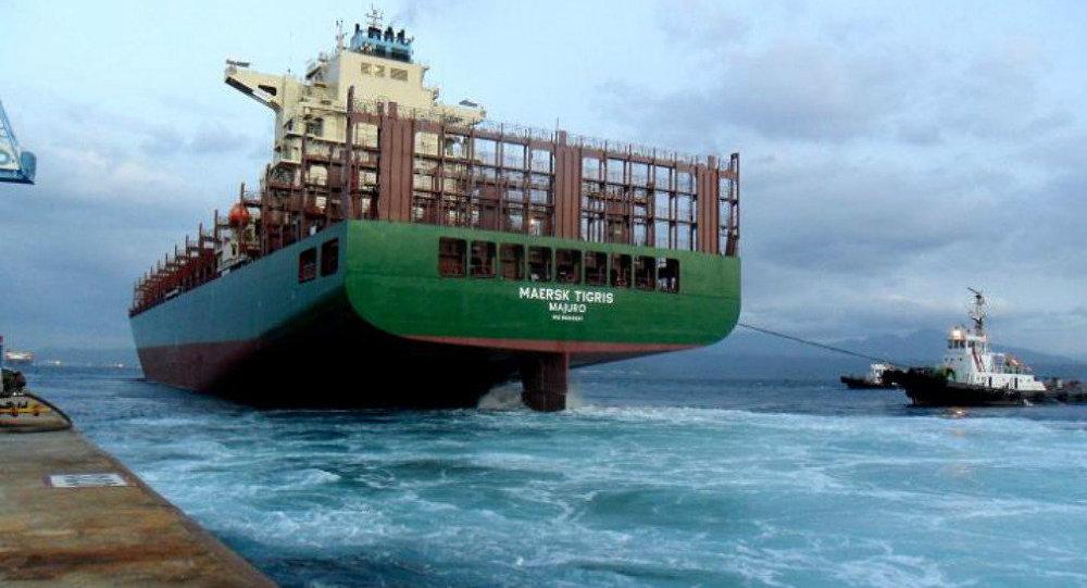 Le cargo Maersk Tigris