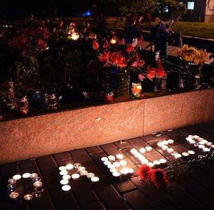 Commémoration des victimes du massacre à Odessa