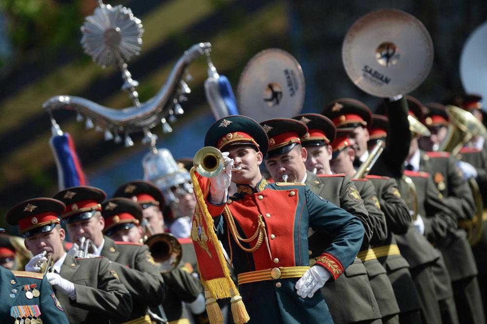 Répétition générale du Défilé de la Victoire à Moscou