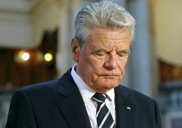 Joachim Gauck. Archive photo