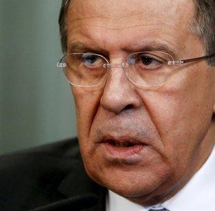 Сhef de la diplomatie russe Sergueï Lavrov