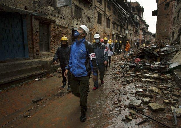 Après le séisme au Népal