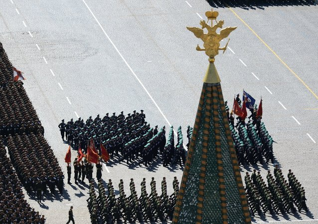 Parade de la Victoire, Moscou. Archive photo