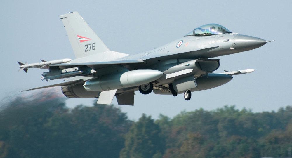 F-16AM de la Force aérienne norvégienne