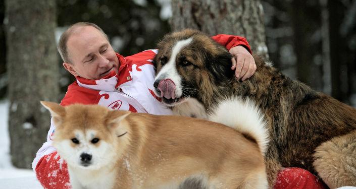 Poutine exauce les veux d'enfants démunis