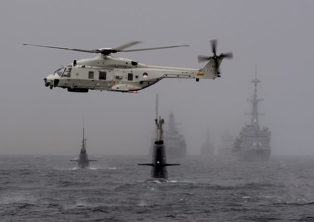 Norvège: exercices navals de l'Otan Dynamic Mongoose 2015